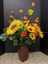 Fall Licious Vase Arrangement