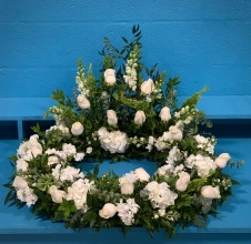 Pure Love Cremation Wreath
