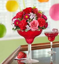 Strawberry Floral Margarita
