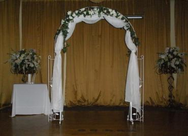 Decorated Metal Arch