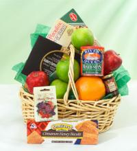 Fruit, Sweets and Treats Basket