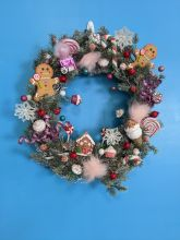 18 inch Gingerbread Man Wreath