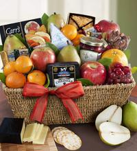 Fruit & Gourmet Sweets Gift Basket