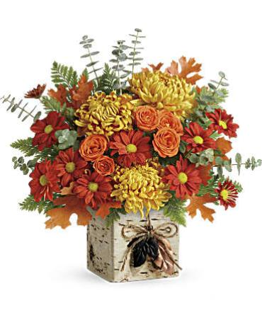 Teleflora\'s Wild Autumn Bouquet