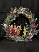 18 inch The Grinch Wreath