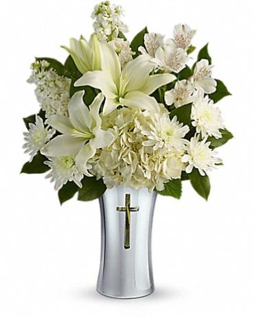 Shining Cross Vase