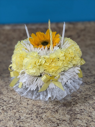 Sunshine Flower Cake