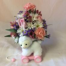 Baby Girl Lamb Bouquet