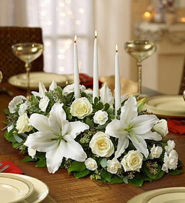 All White Centerpiece