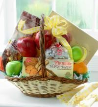 Fruit, Candy and Cookie Basket