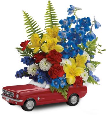 \'65 Ford Mustang Bouquet