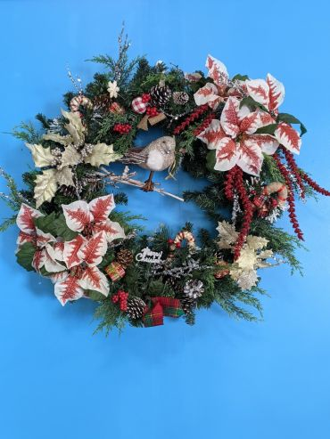 24 inch Country Christmas Wreath