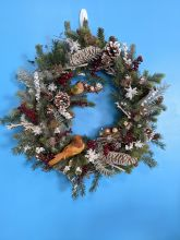 18 inch Winter Berry Wreath