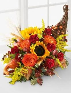 Autumn Celebration Cornucopia