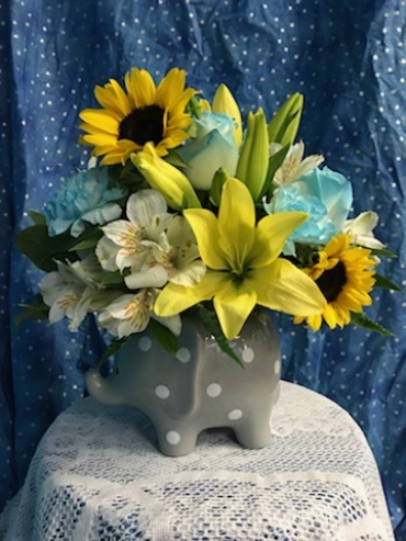 Baby Boy Lala Bouquet