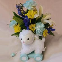 Baby Boy Lamb Bouquet