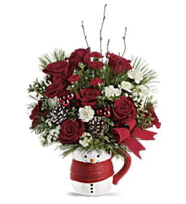 Send a Hug Festive Friend Bouquet