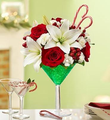 Peppermint Martini Bouquet