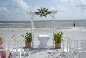 Ft Myers Beach Wedding