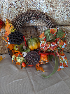 12 inch Celebrating Fall Wreath