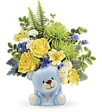 Joyful Blue Bear
